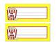 Popcorn Name Tags