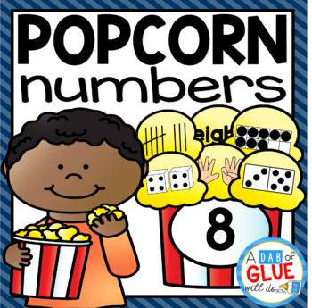 Popcorn Number Match-Up