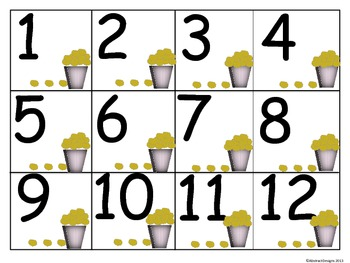 Popcorn Numbers (100's Chart and Calendar)