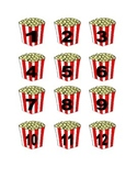 Popcorn Numbers for Calendar or Math Activity