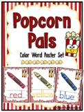 Popcorn Pals | Color Word Poster Set