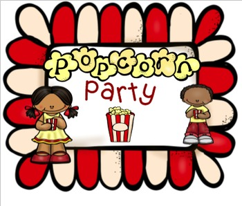Popcorn Party - A Language Game