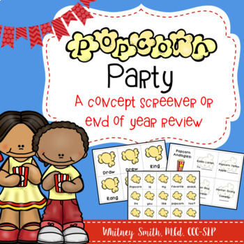 Popcorn Party Concept Screener and Review