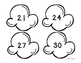 Popcorn Patterns!  Number Patterns Center and Recording Sheet