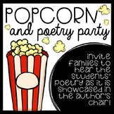Poetry Celebration for Families- EDITABLE