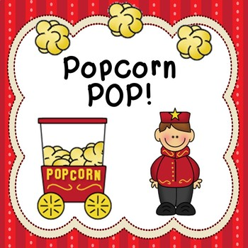 Popcorn Pop Game Sight Words Math Facts Like BANG