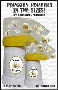 Popcorn Poppers In Two Sizes