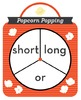 Popcorn Popping -or Phonics Game - Words Their Way Game