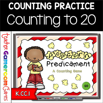 Popcorn Predicament - A Counting Practice PPT Game