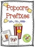 Popcorn Prefixes: un-, re-, mis-
