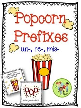 Popcorn Prefixes: un-, re-, mis-