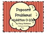 Popcorn Problems - Addition Facts 1-10