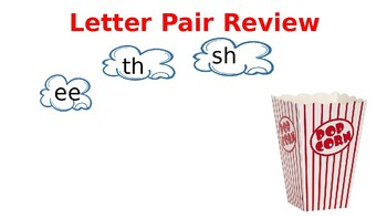 Popcorn Reading Review Game (editable) ReadWell Units 1 - 10
