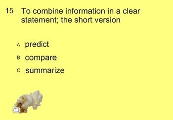 Popcorn Reading Vocaublary Review SMARTBOARD