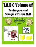 Popcorn Rectangular and Triangular Prism Task