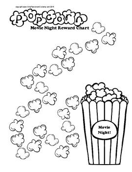 Popcorn Reward Charts