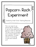 Popcorn Rock (Dolomite) Crystal Growing Science Lab ~ FREE