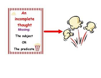 Popcorn Sentences!
