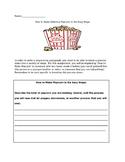 Popcorn Sequencing Paragraph