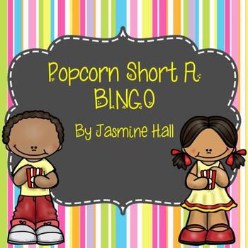 Popcorn Short A Sight Words and Bingo