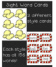 Popcorn Sight Word Bundle--Sight Word Cards, Games/Activities, Worksheets