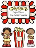 Pre-Primer Sight Word File Folder Games