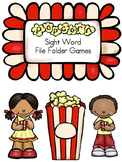 Pre-Primer Sight Word File Folder Games