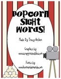 Popcorn Sight Word Game