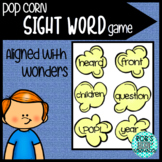 Popcorn Sight Word Game (Aligned with Wonders First Grade)