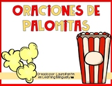 Popcorn Sight Word Sentences in Spanish