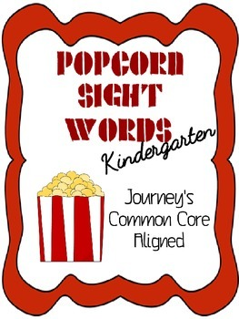 Popcorn Sight Words-Kindergarten
