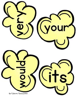 Popcorn Sight Words: 2nd Grade Edition!