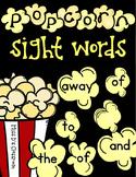 Popcorn Sight Words: 3rd Grade Edition!