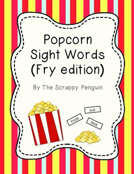 Popcorn Sight Words (Fry Edition)