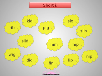 Popcorn Sight-Words Game