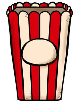 FREEBIE - Popcorn Sight Words Game - Pre-Primer Dolch List 1