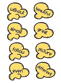 Popcorn Sight Words Grades 2-3