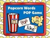Popcorn Sight Words POP Game