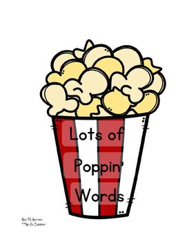 Popcorn Sight Words: Pre-Primer Edition!