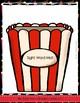 Popcorn Sight Words Reading & Spelling Game Preprimer Edition