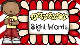 Popcorn Sight Words - VIPKID Props - Virtual Teaching