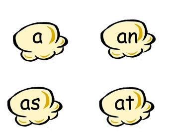 Popcorn Sight words for grade 1