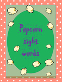 Popcorn Sight words for grade 1