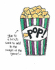 Popcorn!  Spanish Sight Words