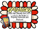 Popcorn Speech and Language Craftivity