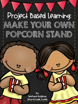 Popcorn Stand Project Based Learning-Addition, Graphing, Subtracting, Even & Odd
