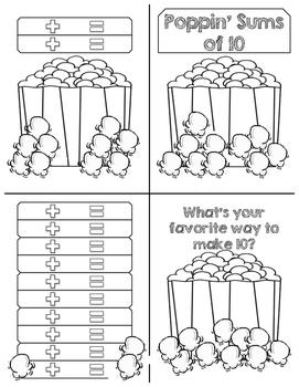Popcorn Sums of 10 MiniBook