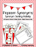 Popcorn Synonyms: A Synonym Sorting Activity