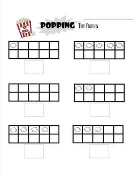 Popcorn Ten Frame