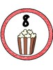 Popcorn Table Numbers 1-8